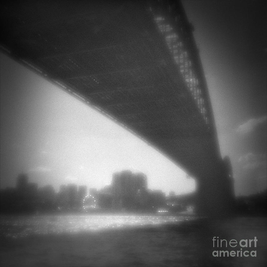 Australia Photograph - Sydney Harbour Bridge And North Sydney by Colin and Linda McKie
