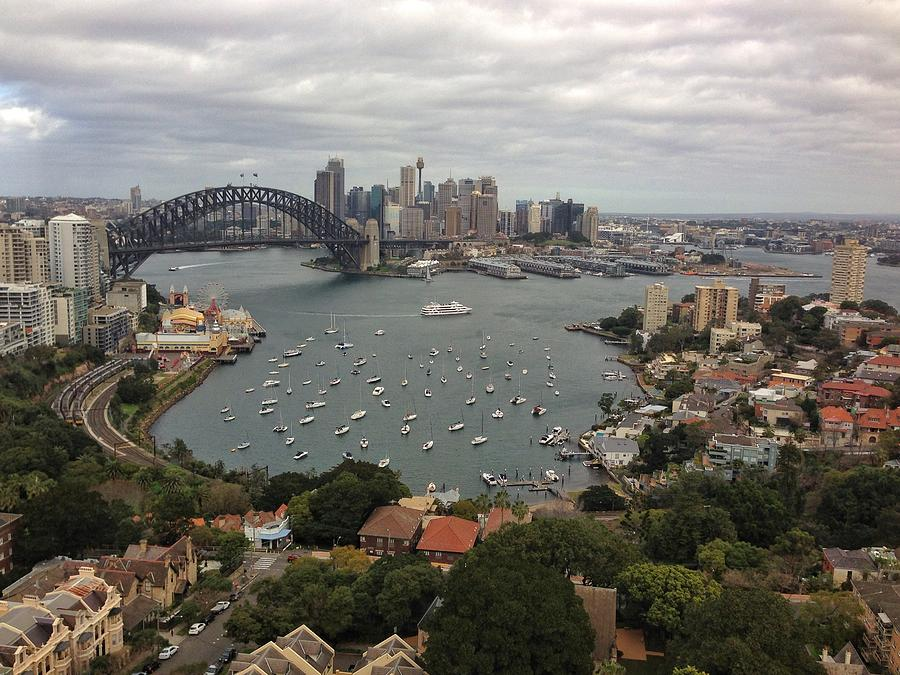 Sydney Harbour Bridge Photograph by Jowena Chua