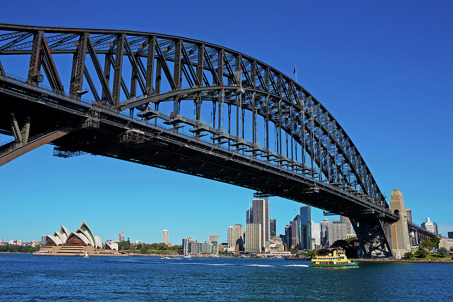 Sydney Harbour Bridge, Opera House And Photograph by Scott E Barbour