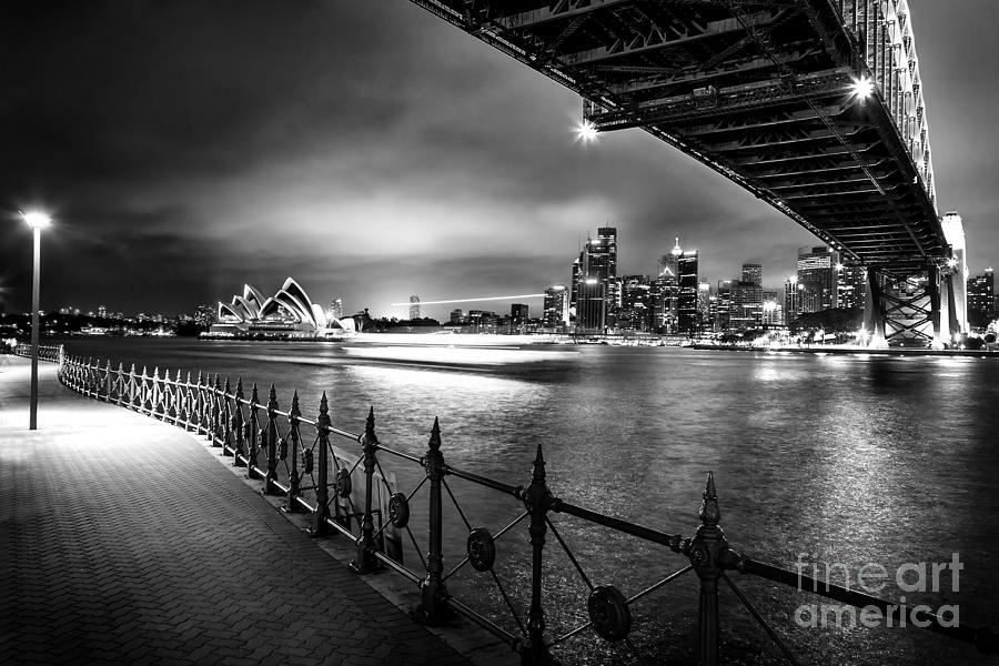 Sydney Photograph - Sydney Harbour Ferries by Az Jackson