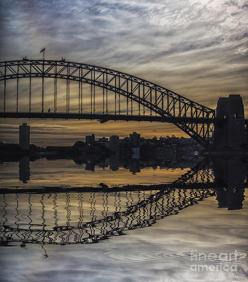Sydney Photograph - Sydney Harbour Late Afternoon by Sheila Smart Fine Art Photography