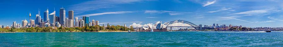 Sydney Harbour Skyline 1 Photograph