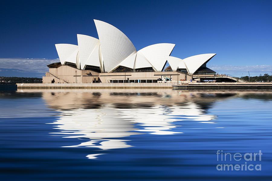 Sydney Opera House Photograph - Sydney Icon by Sheila Smart Fine Art Photography