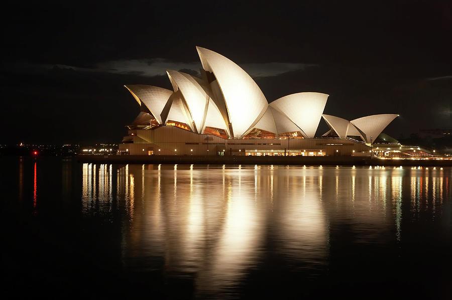 sydney opera house at night david wall photo - 50+ Images Of Sydney Opera House At Night  Pictures