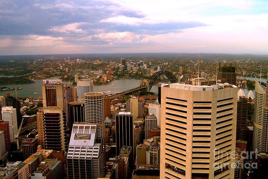 Sydney Photograph - Sydney Skyline by John Potts
