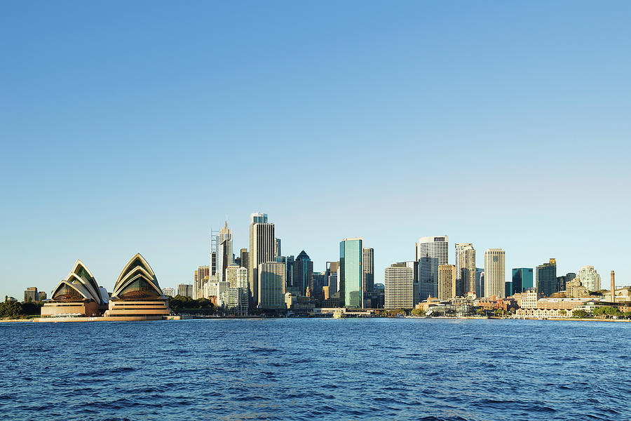 Sydney Skyline Photograph by S. Greg Panosian