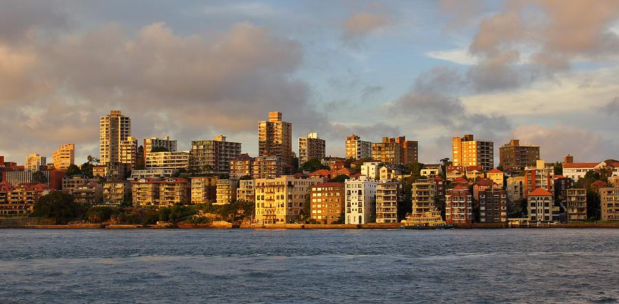 Landscape Photograph - Sydney Town Houses by DerekTXFactor Creative