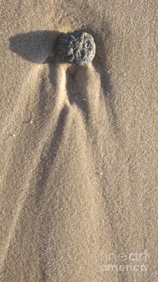 Seascape Photograph - Sylt Angel by Heidi Sieber
