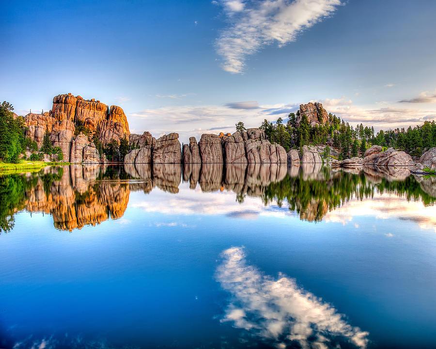July Photograph - Sylvan Lake by David Wynia