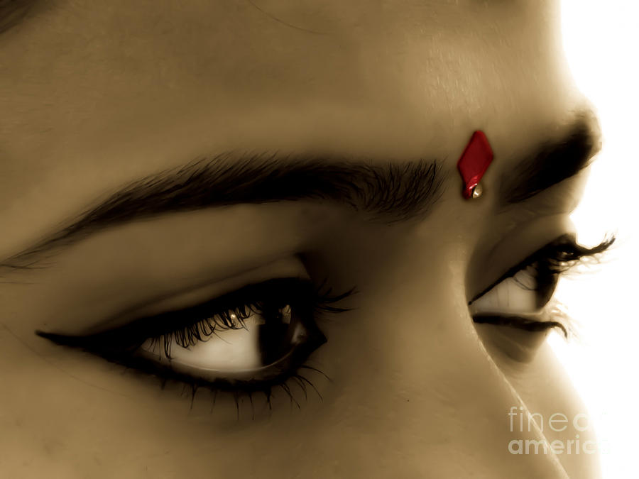 Symbol Of Love Bindi Photograph By Sapna Mondol