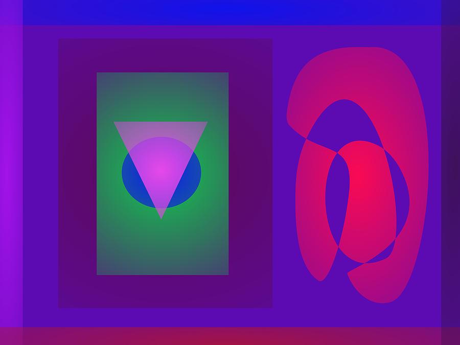 Gradation Digital Art - Symbols by Masaaki Kimura
