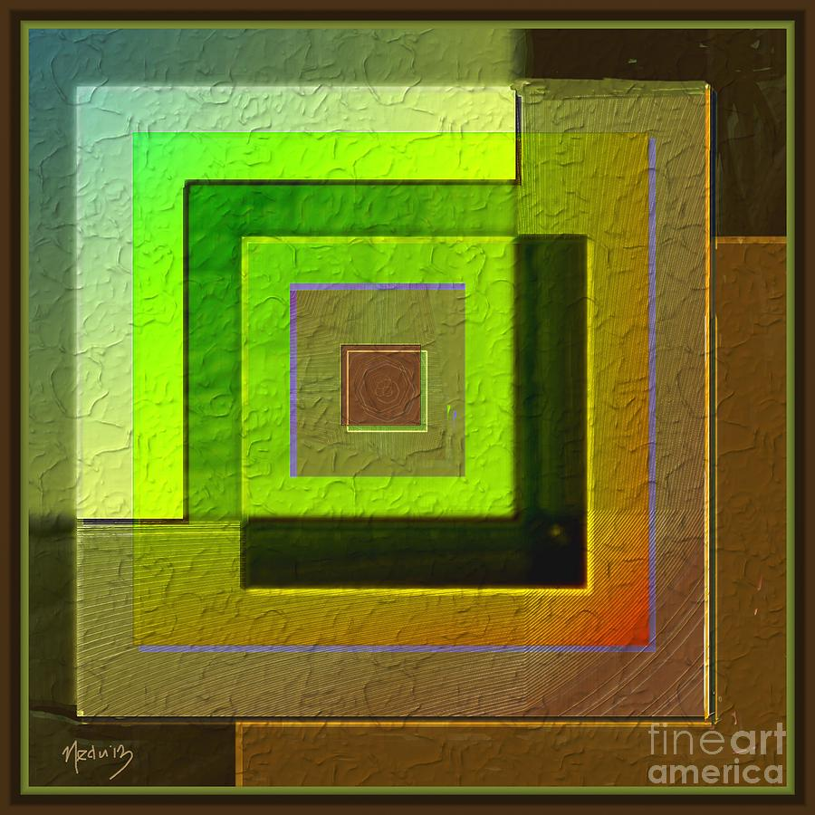 Canvas Prints Painting - Symmetrica 260 by Nedunseralathan R