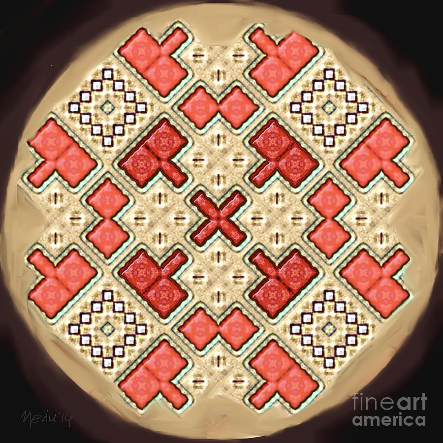 Art Prints Painting - Symmetrica 311 by Nedunseralathan R