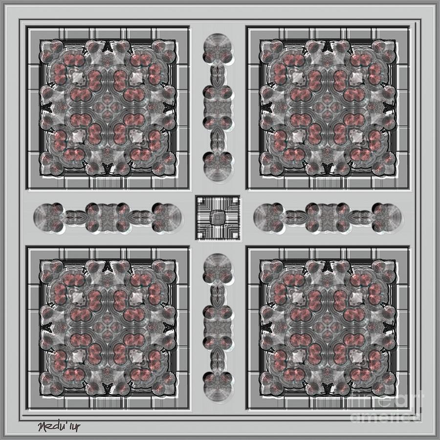 Fine Art Painting - Symmetrica 313 by Nedunseralathan R