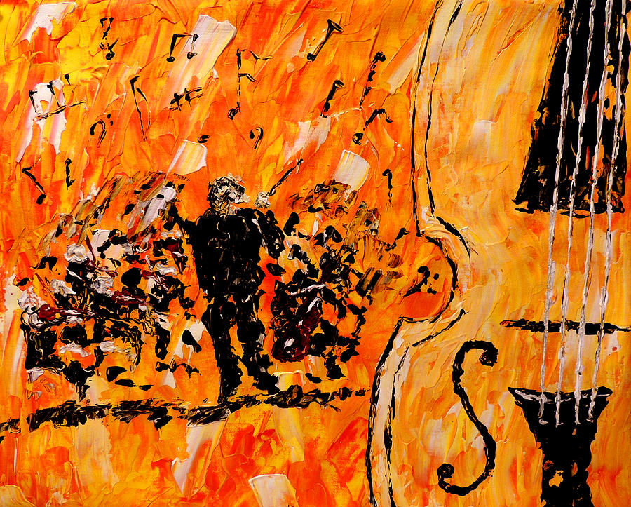 Orchestration Painting - Symphony by Mark Moore