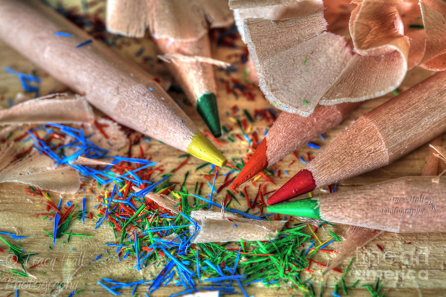 Pencils Photograph - Symphony Of Color by Tracy  Hall