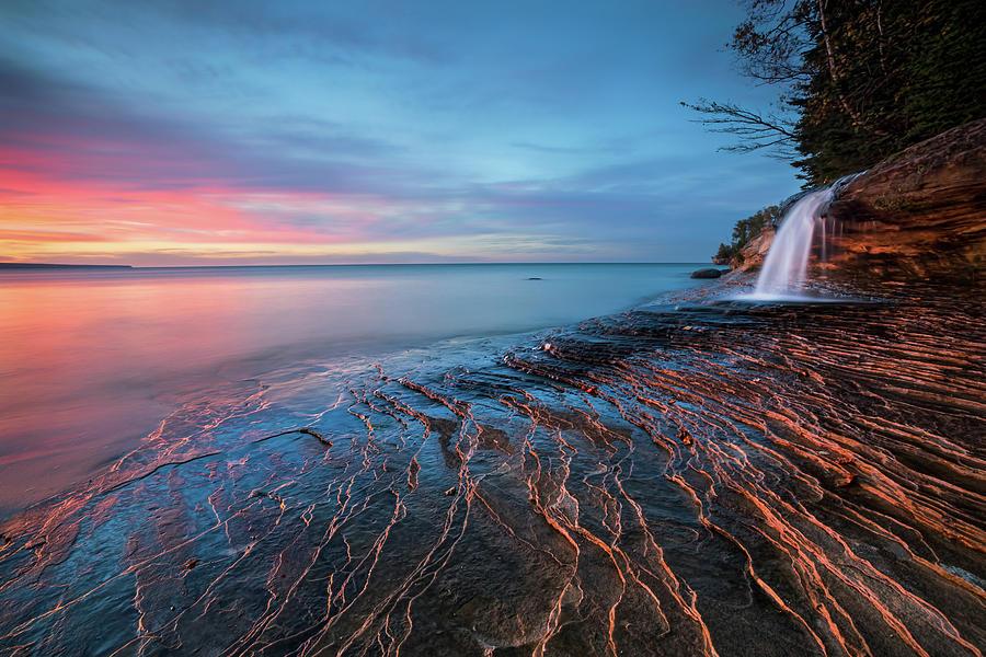 Symphony Of Sunset Photograph by John Fan Photography