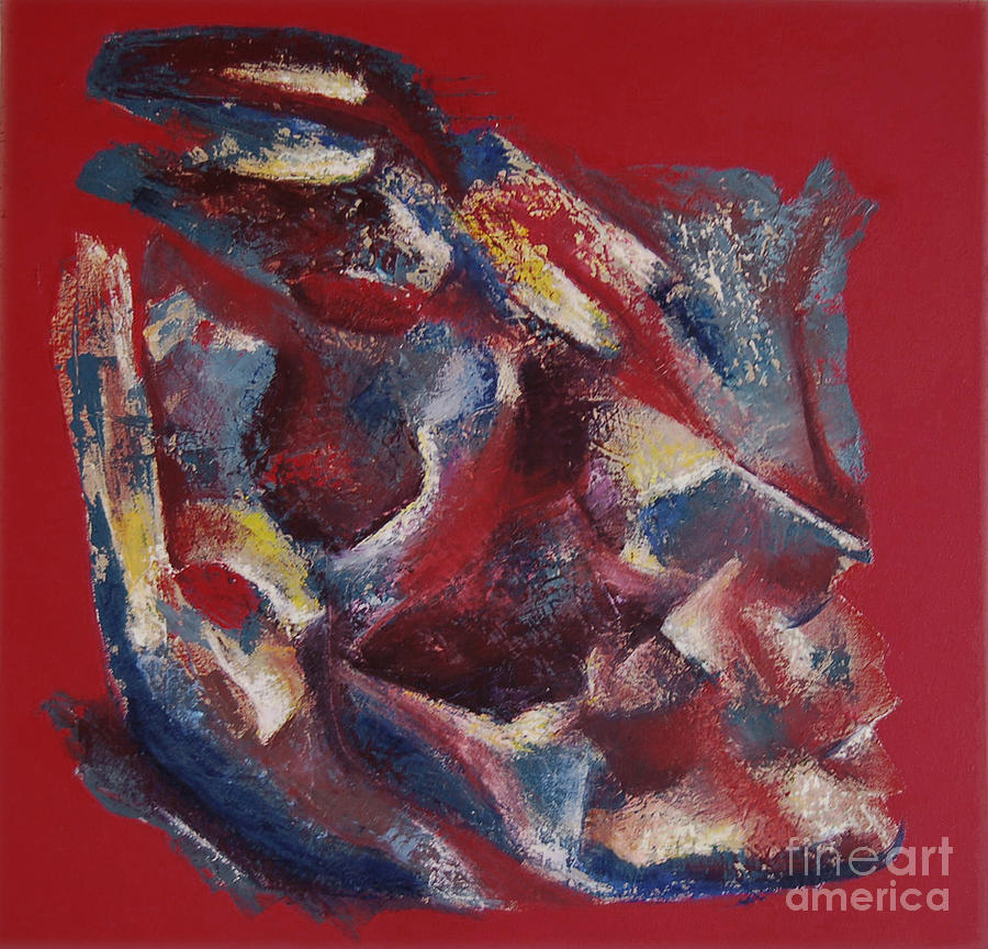 Abstract Painting - Syncopation by Mini Arora