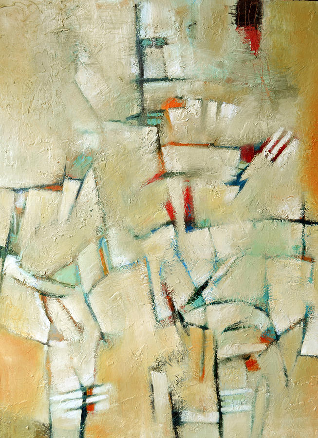 Abstract Painting - Synergy by Filomena Booth