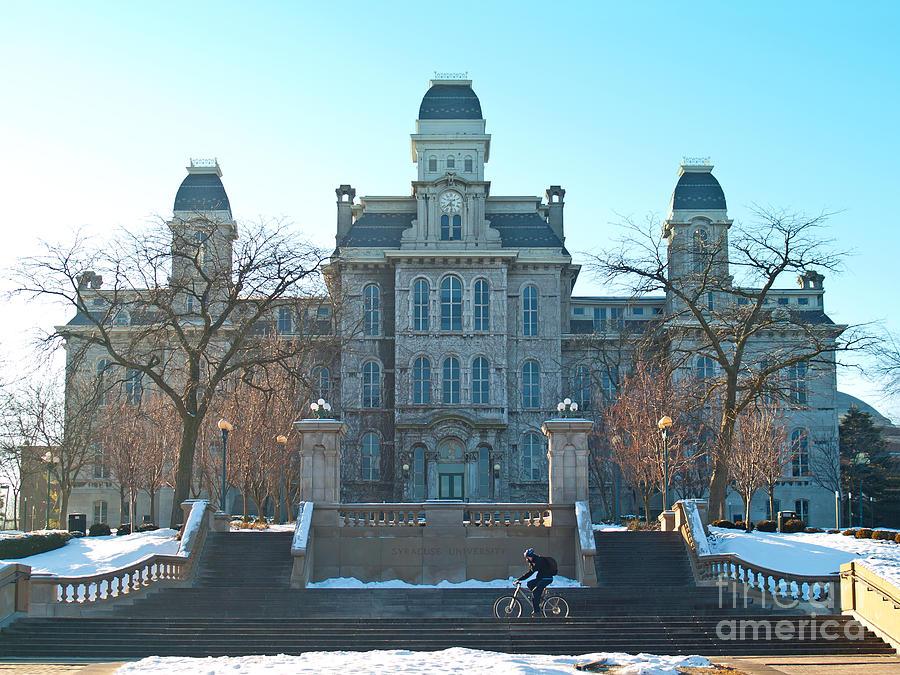 School Photograph - Syracuse University by Debra Millet