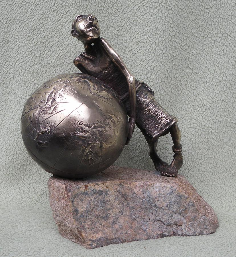 Sculpture Sculpture - Syzyfos by Markus Czarne
