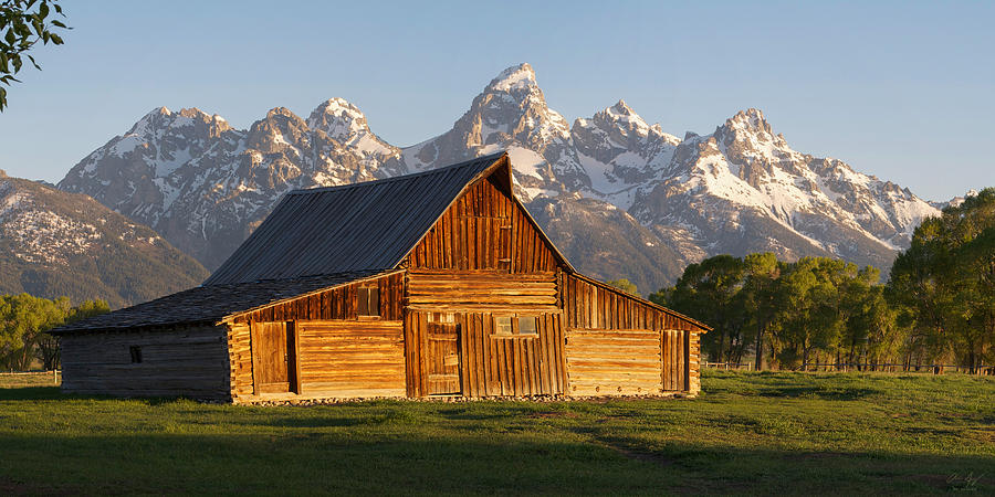 T. A. Moulton Barn and the Tetons by Aaron Spong