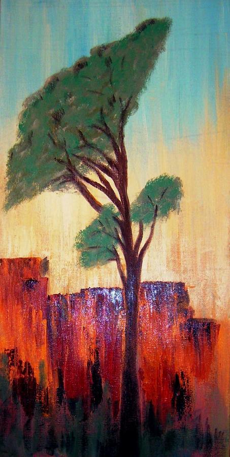 Landscape Painting - T And M by Joseph Ferguson