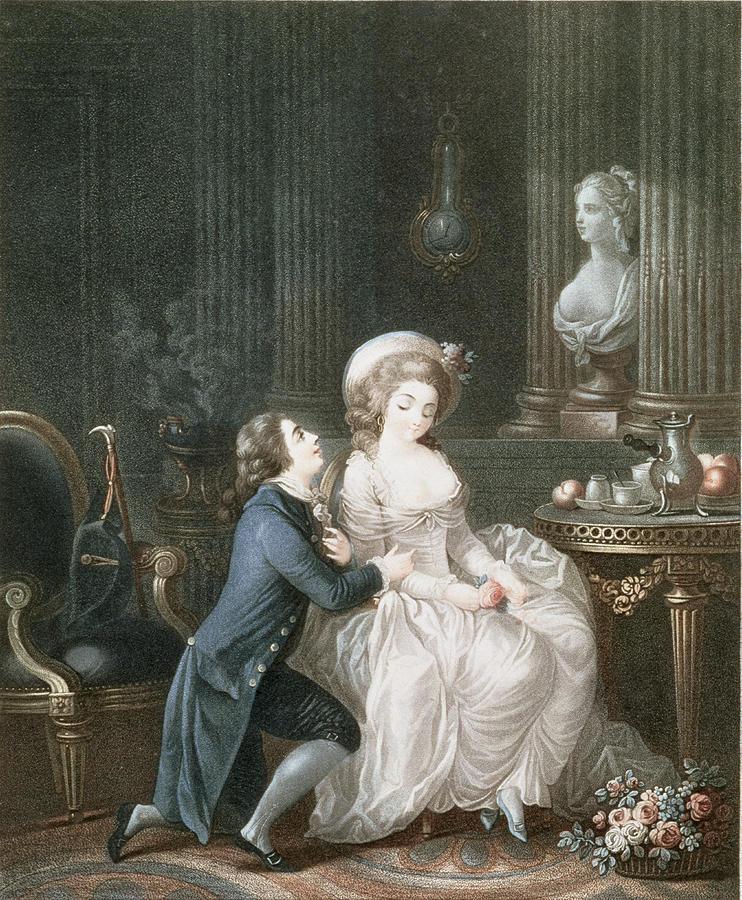 Proposal Drawing - T.2342 Lamant Ecoute, 1775 by Louis Marin Bonnet