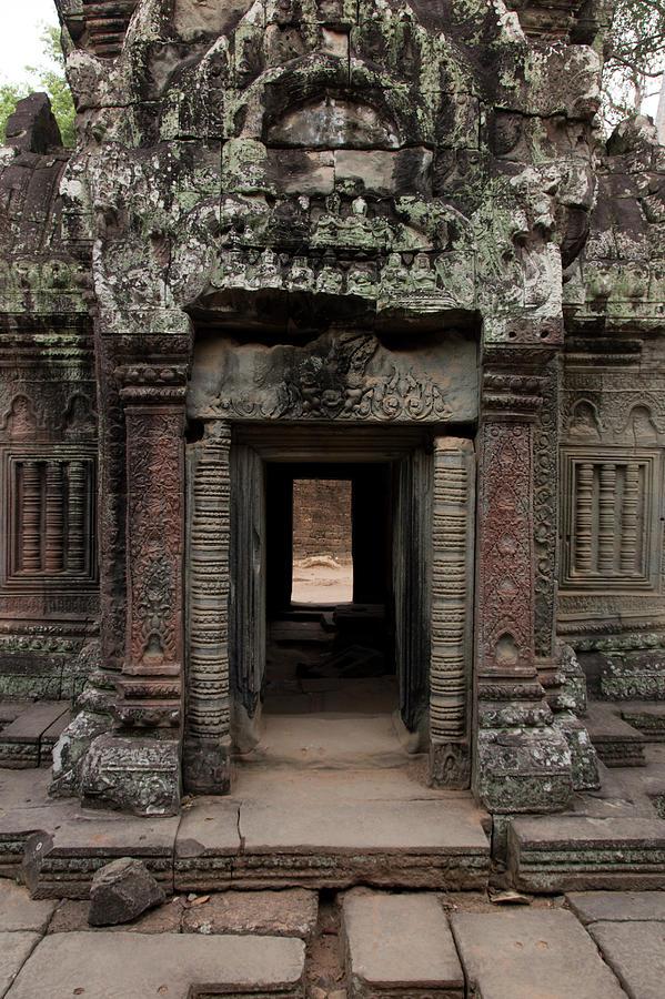 Ta Prohm Temple, Angkor, Cambodia Photograph by Pawel Toczynski