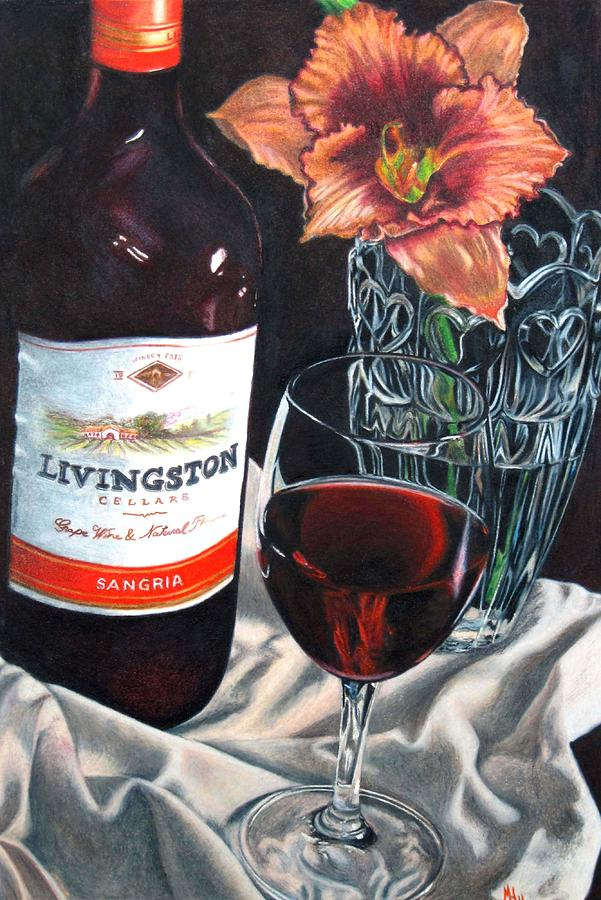 Still Life Painting - Table For One by Michelle Harrington