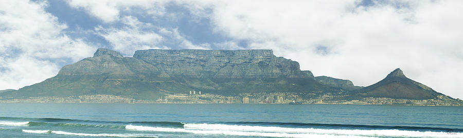 Cape Town Photograph - Table Mountain by Tom Hudson