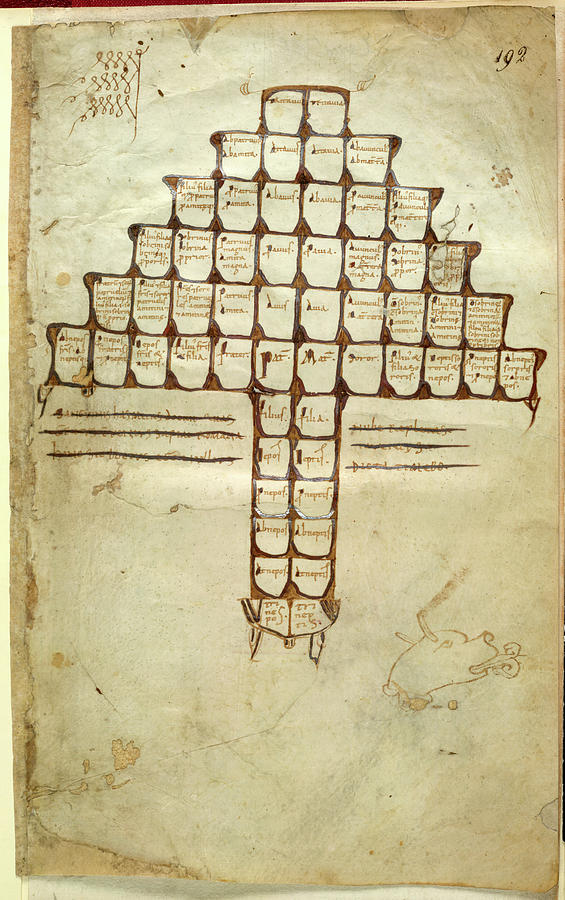 Connection Photograph - Table Of Consanguinuity by British Library