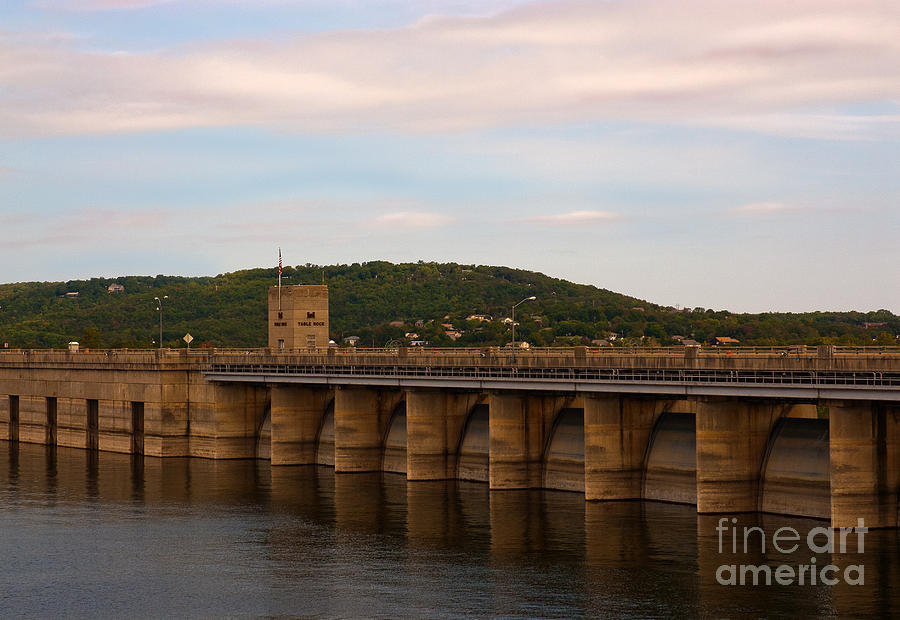 Table Rock Dam by Lena Wilhite