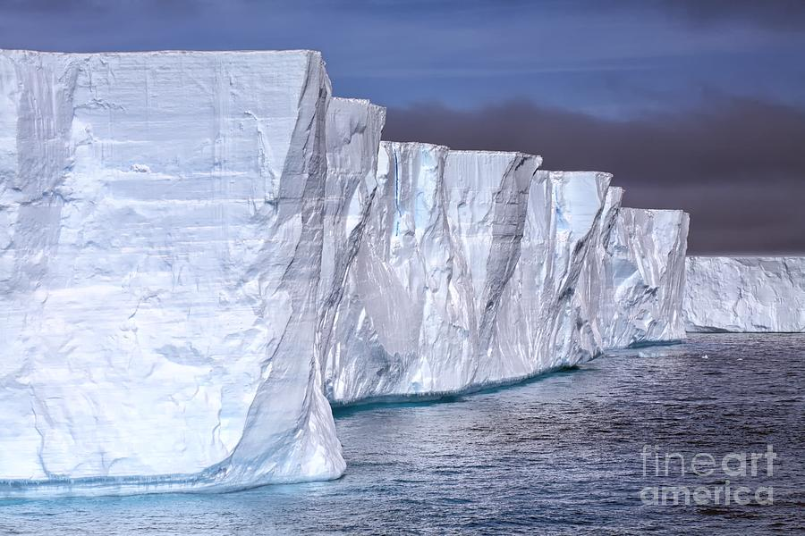 Tabular Iceberg by Kate McKenna
