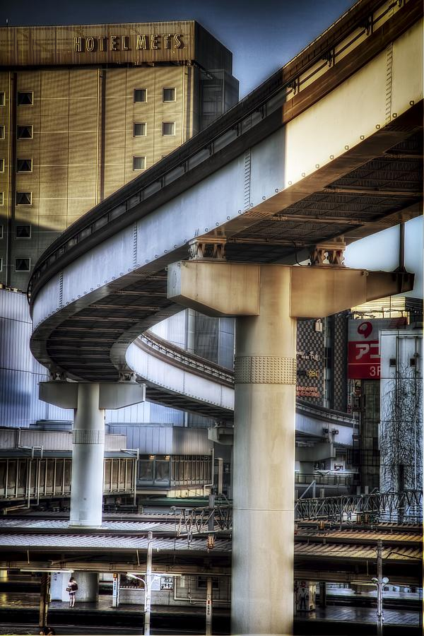 Japan Photograph - Tachikawa Monorail I by Rscpics