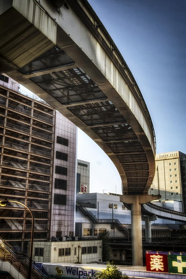 Japan Photograph - Tachikawa Monorail II by Rscpics