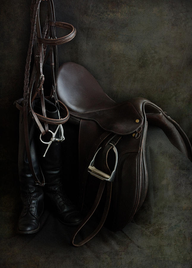 Tack and Boots by M Davis