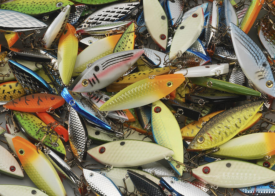 Fishing Photograph - Tackle Box Tangle by Jerry McElroy