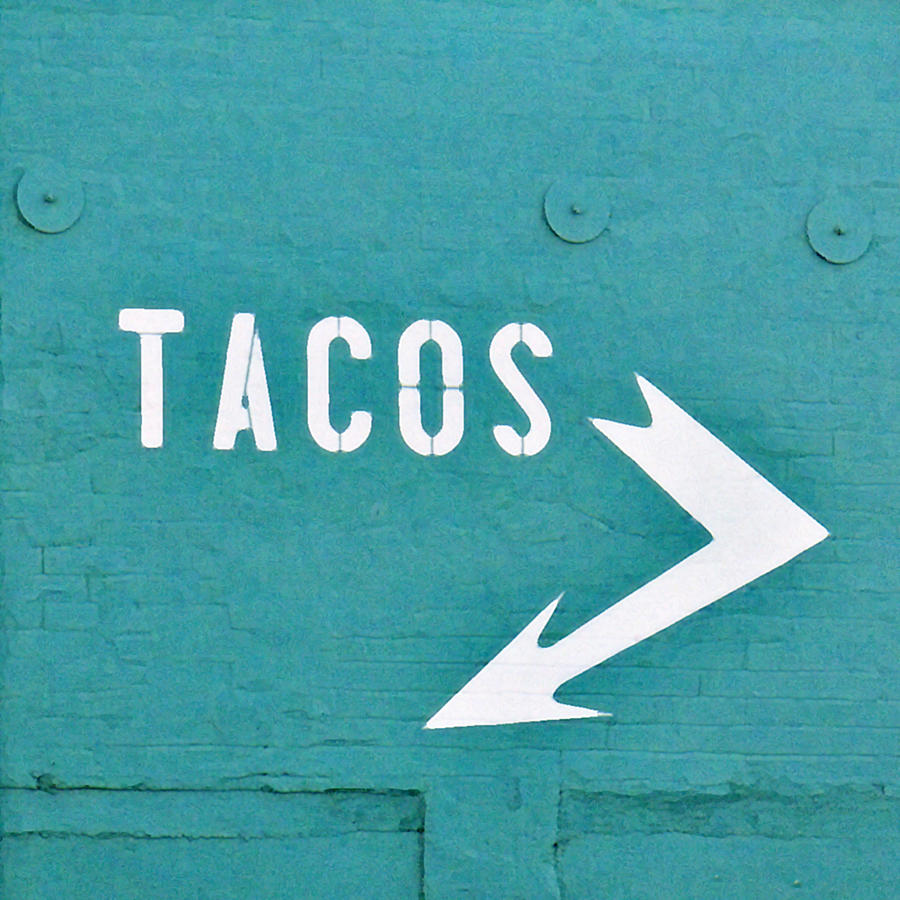 Taco Photograph - Tacos by Art Block Collections