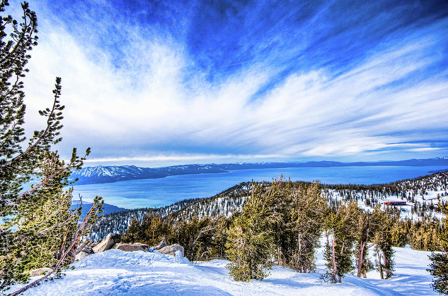 Tahoe From Heavenly Photograph by Peter Stasiewicz