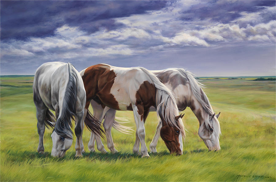 Michelle Grant Painting - Tail Wind by JQ Licensing