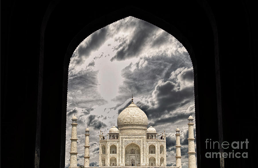 Love Photograph - Taj Mahal -a Monument Of Love by Vineesh Edakkara