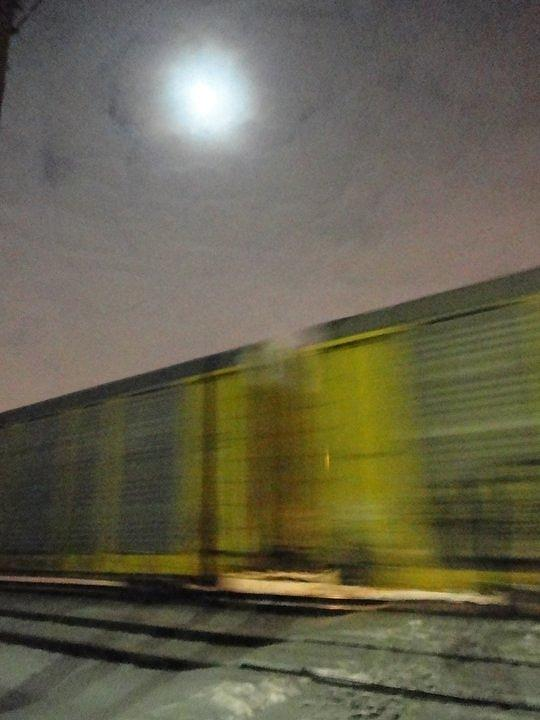 Train Photograph - Take A Fast Train by Guy Ricketts