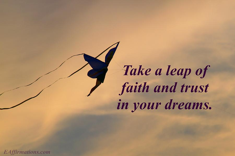 Take A Leap Of Faith Photograph By Pharaoh Martin