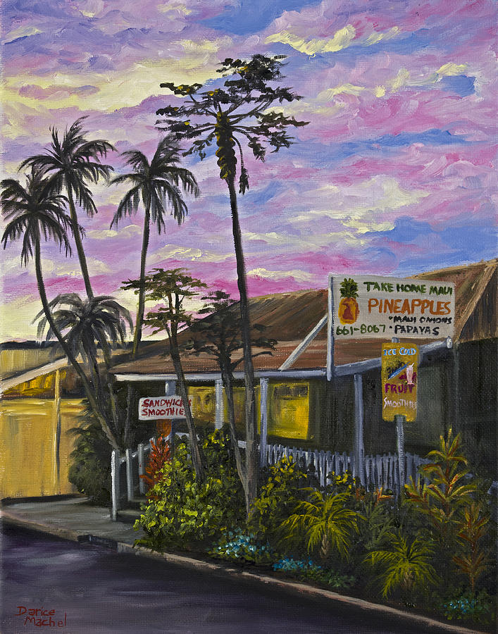 Landscape Painting - Take Home Maui by Darice Machel McGuire