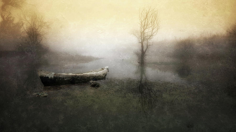 Boat Photograph - Take Me Down To My Boat In The River by Charlaine Gerber