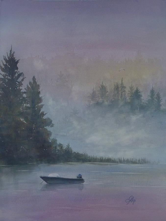 Fishing Painting - Take Me Fishing by Gigi Dequanne