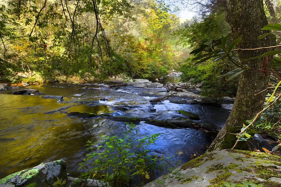 Appalachia Photograph - Take Me To The River by Debra and Dave Vanderlaan