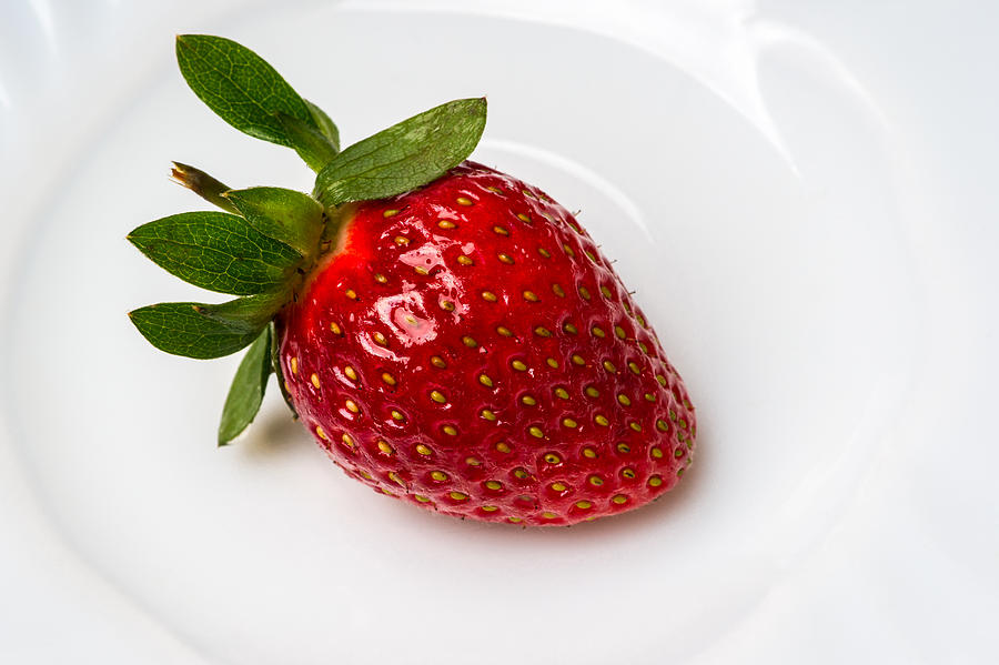 Strawberry Photograph - Take My Heart by Alexander Senin