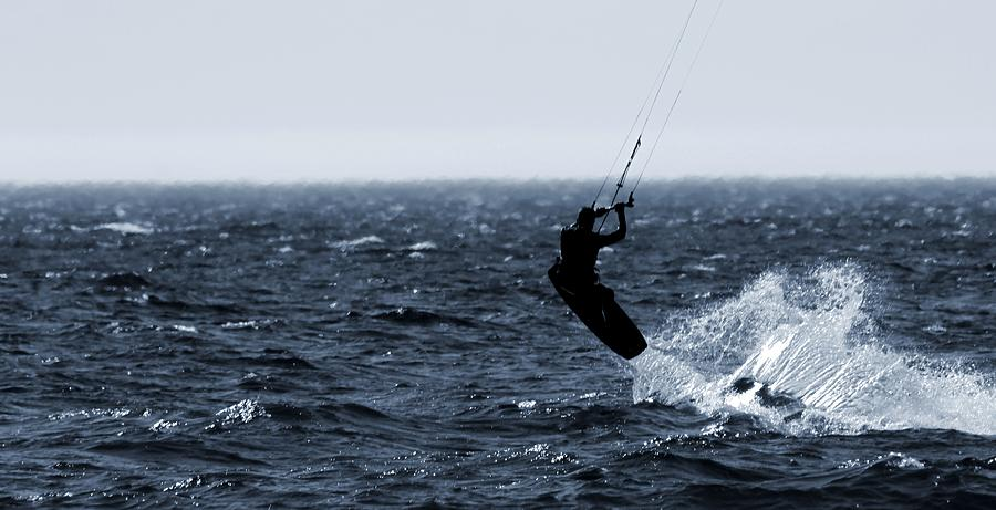 Kitesurfing Photograph - Take Off by Dan Sproul